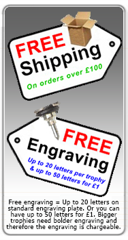 Free Shipping and Engraving