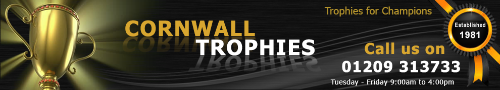 Trophies Cornwall | Awards Truro | Trophy Falmouth | Medals Redruth